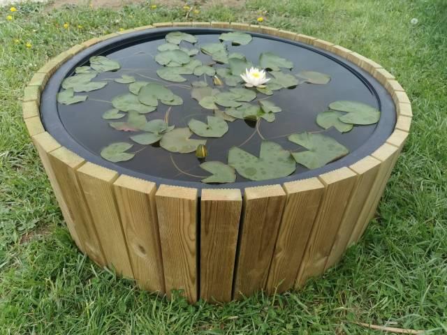 Mini bassin rond 150 litres